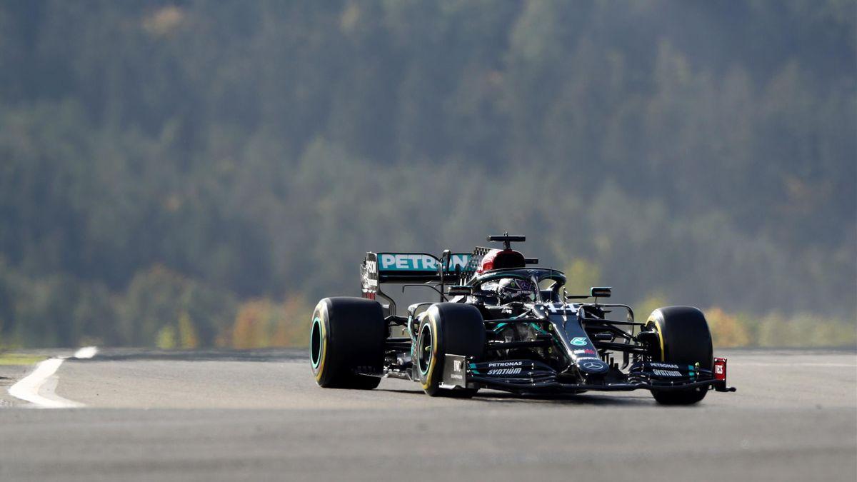Lewis Hamilton am Nürburgring