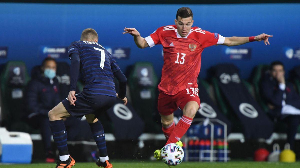 Денис Макаров на молодежном Евро-2021