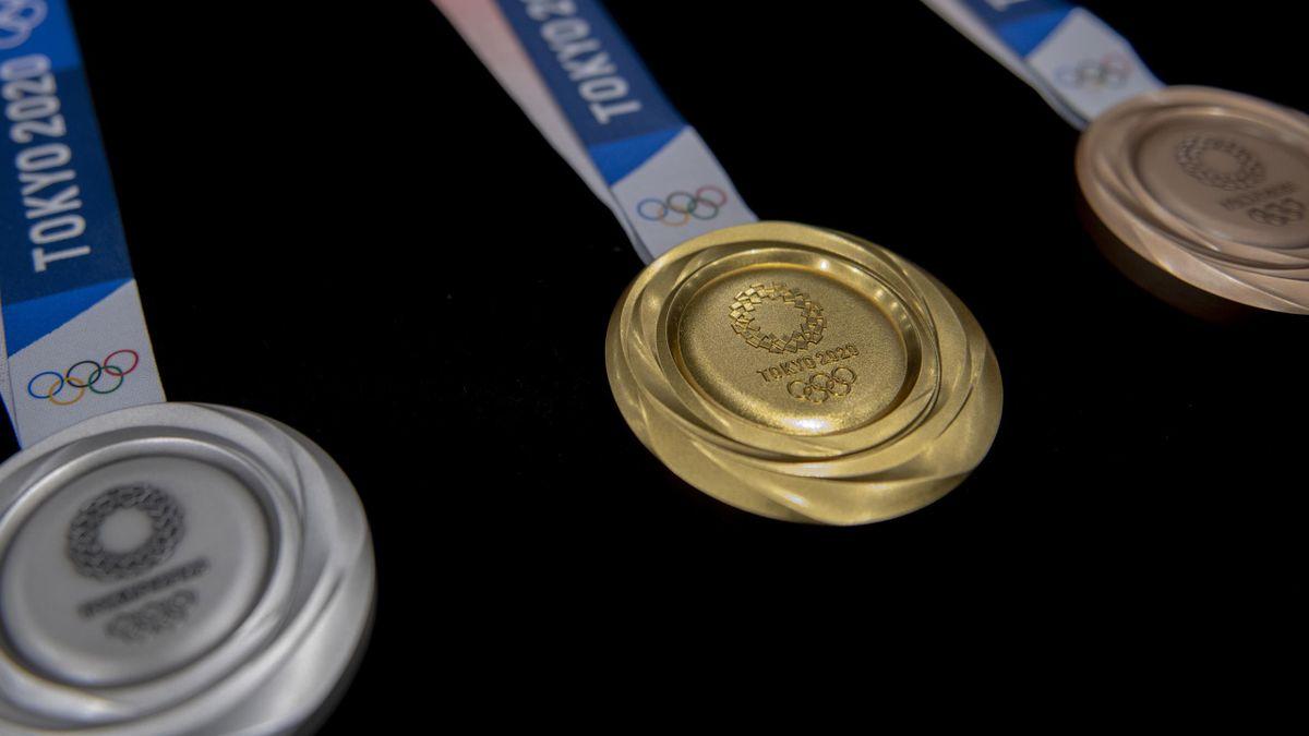 Les médailles des JO 2020
