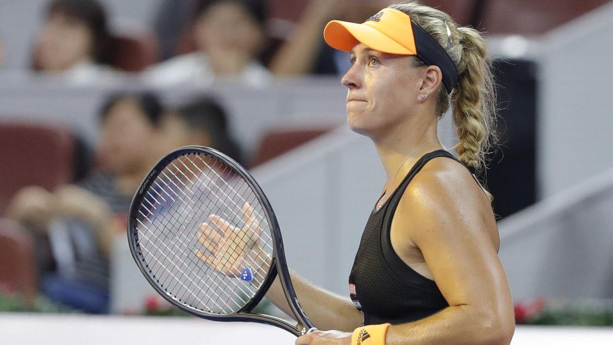 Angelique Kerber beim WTA-Tournier in Peking