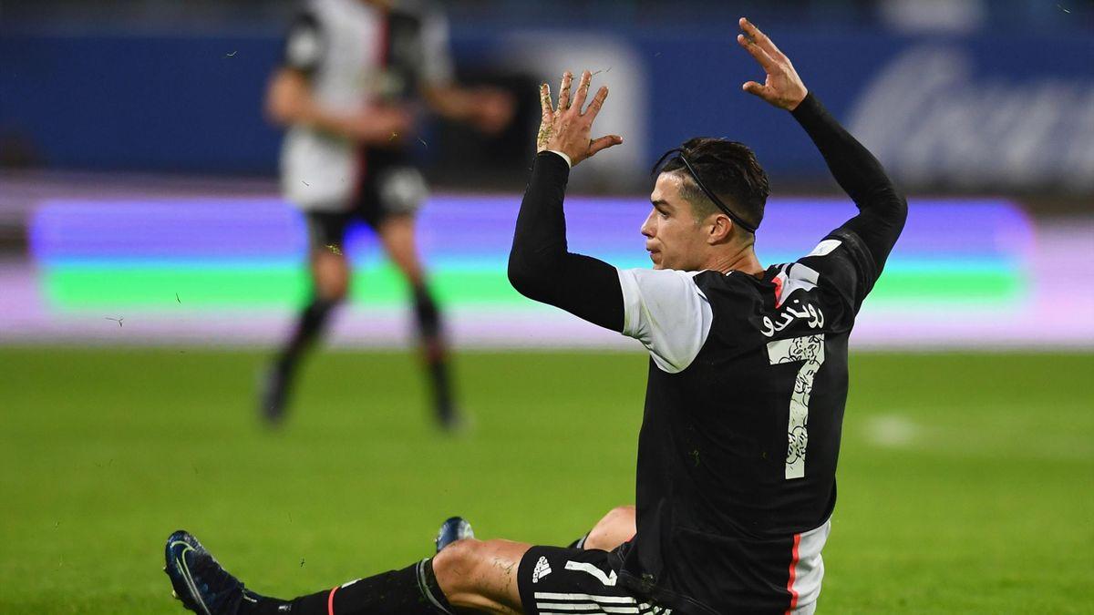 La frustrazione di Cristiano Ronaldo, Juventus-Lazio, Supercoppa Italiana, Getty Images