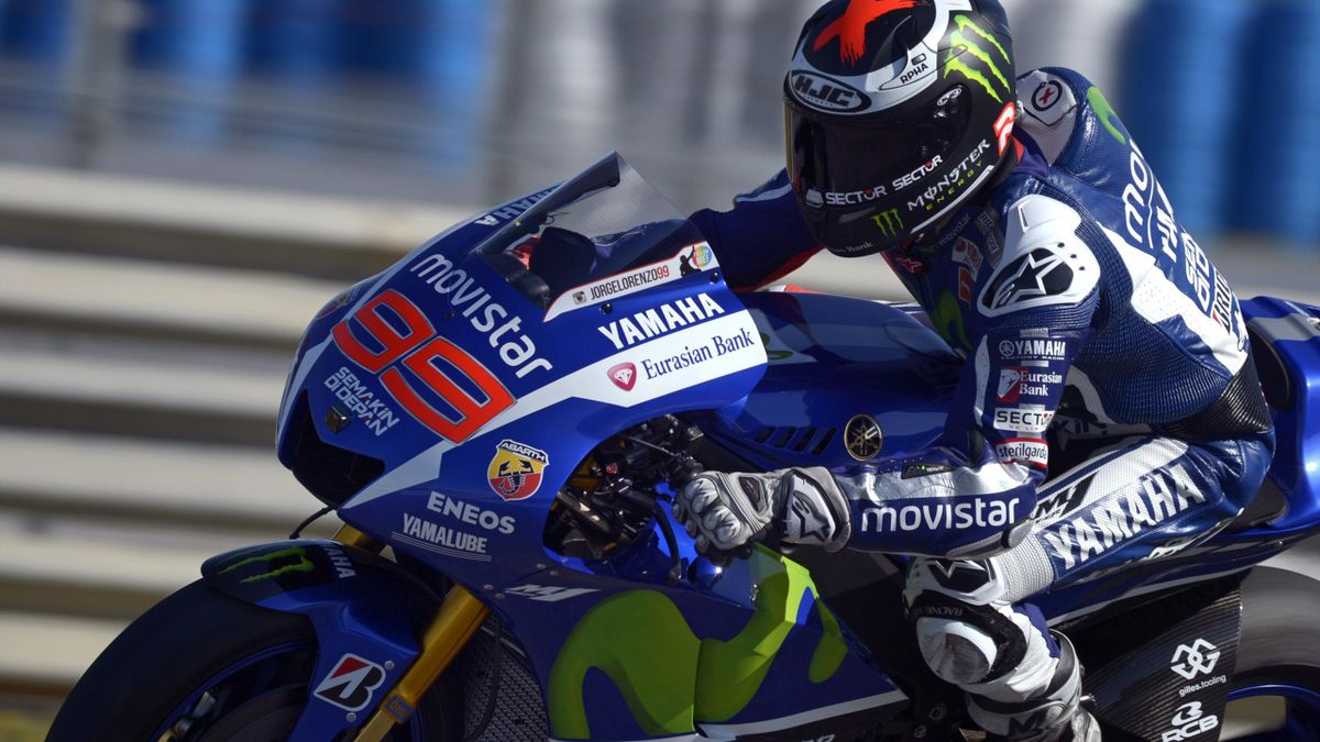 Jorge Lorenzo (Yamaha Factory) au Grand Prix d'Espagne 2015