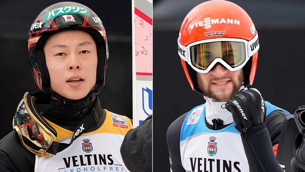 Ryoyu Kobayashi, Markus Eisenbichler