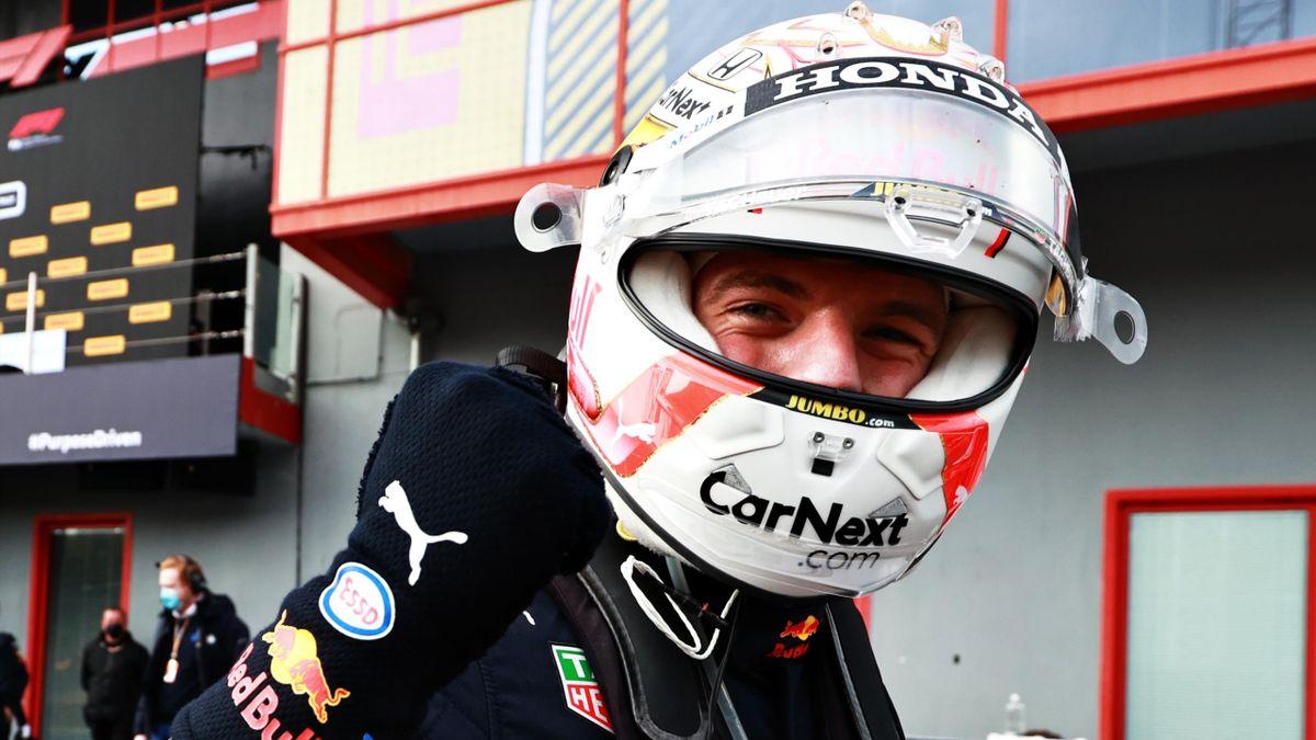 Max Verstappen (Red Bull), vainqueur à Imola