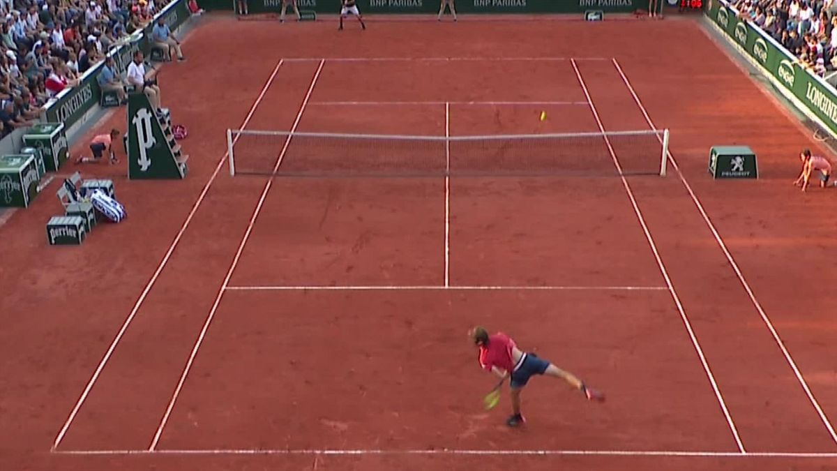 The worst serve of the week ?