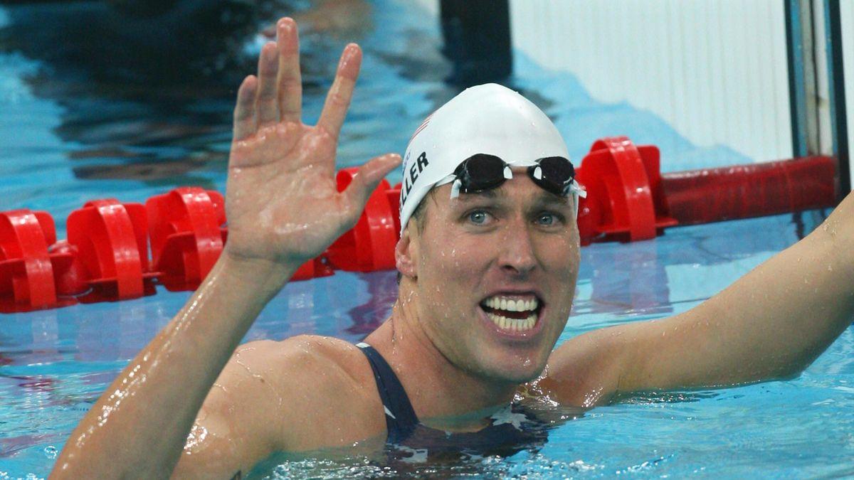 Klete Keller at the 2008 Beijing Olympic Games