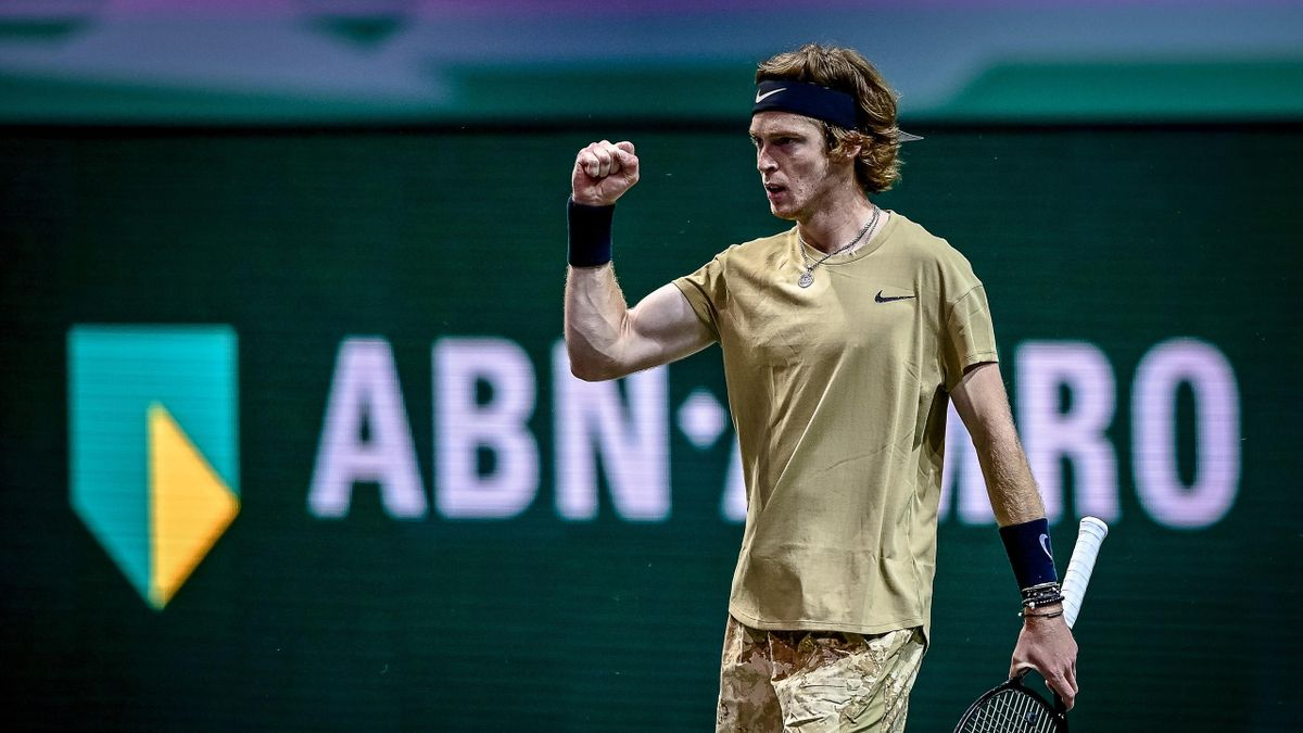 Highlights: Murray comes up short against Rublev in Rotterdam