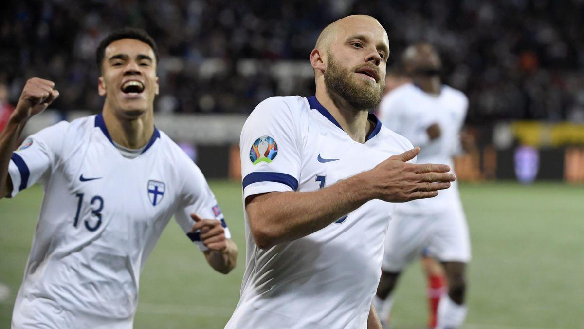 Teemu Pukki löst mit Finnland das Ticket für die EM 2020