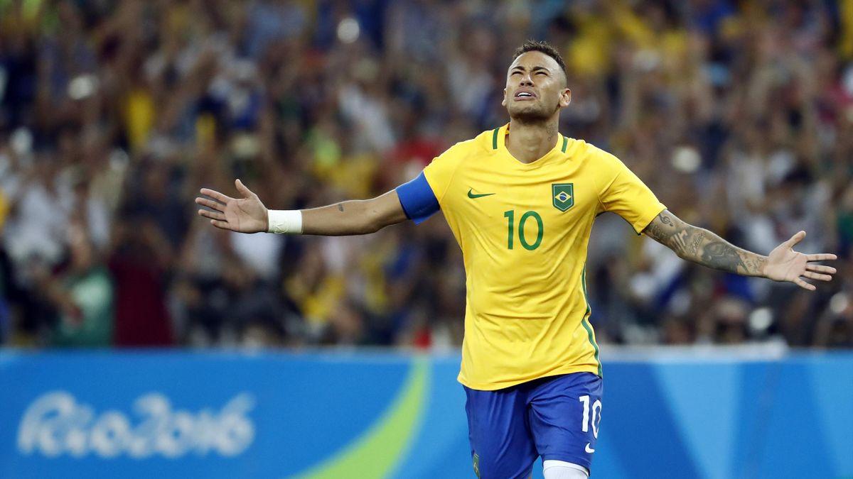 Neymar aux JO de Rio 2016