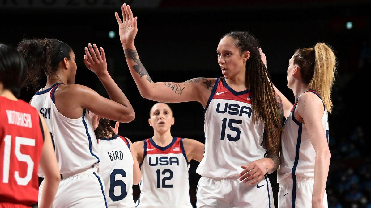 Les Américaines sont championnes olympiques de basket