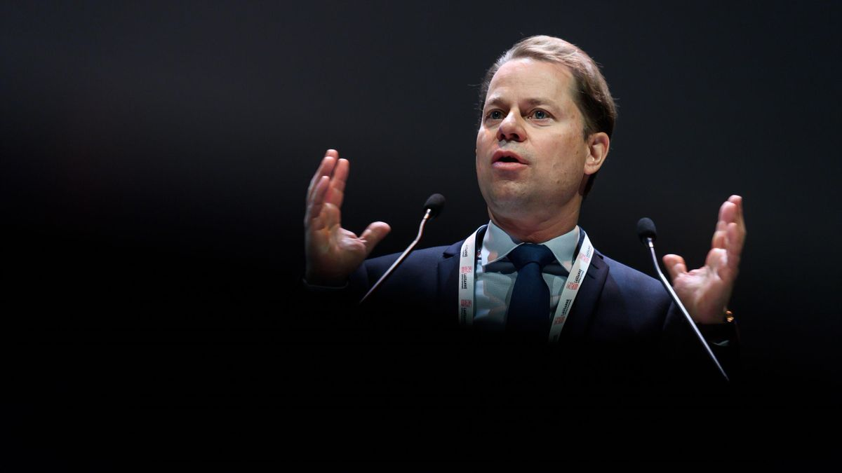 Olivier Niggli, directeur général de l'Agence mondiale antidopage (AMA), en mars 2019 à Lausanne