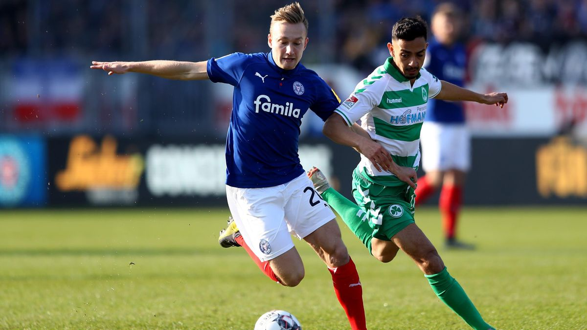 2 Bundesliga Holstein Kiel Rettet 2 2 Gegen Greuther Furth Eurosport