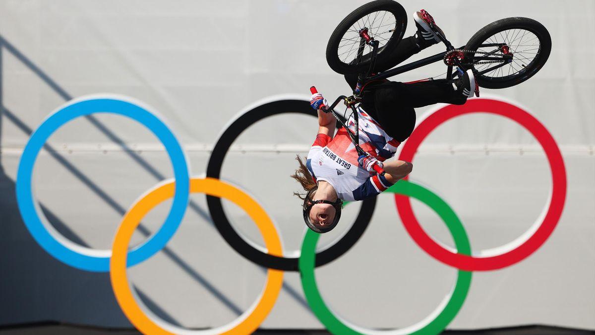 Tokyo 2020 | Worthington zorgt voor spektakel door als eerste vrouw 360 backflip uit te voeren