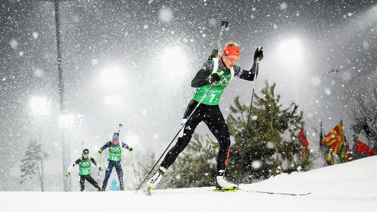 Olympia 2018: Denise Herrmann in der Staffel