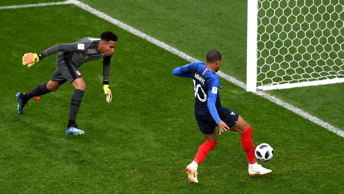 Kylian Mbappé (Frankreich vs. Peru)