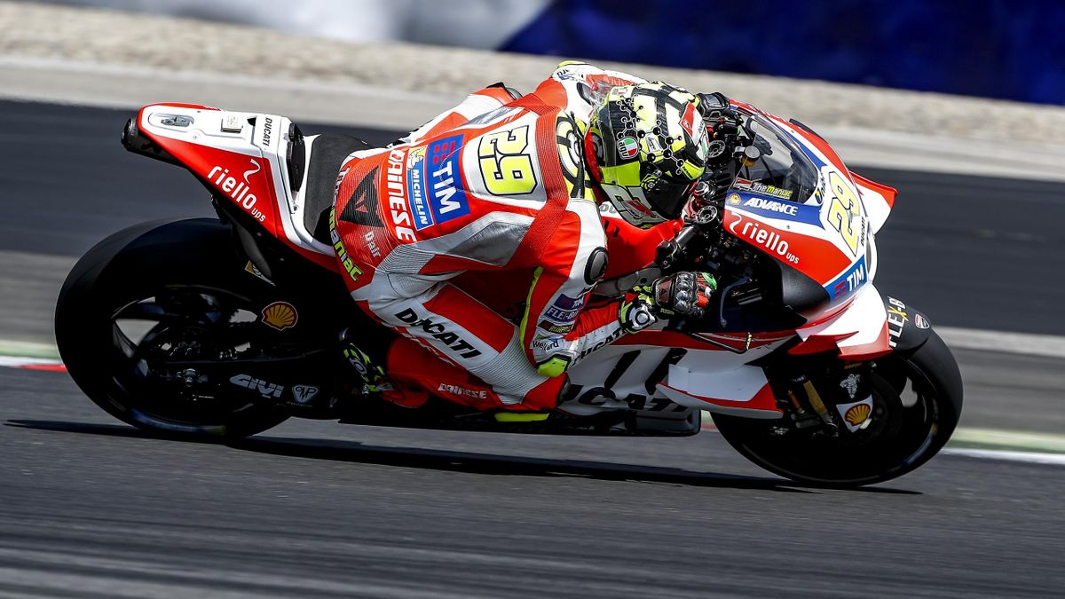 Andrea Iannone (Ducati Team) - Test Spielberg 2016