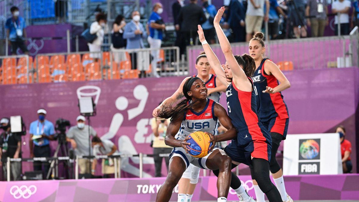 France-USA en basket 3x3