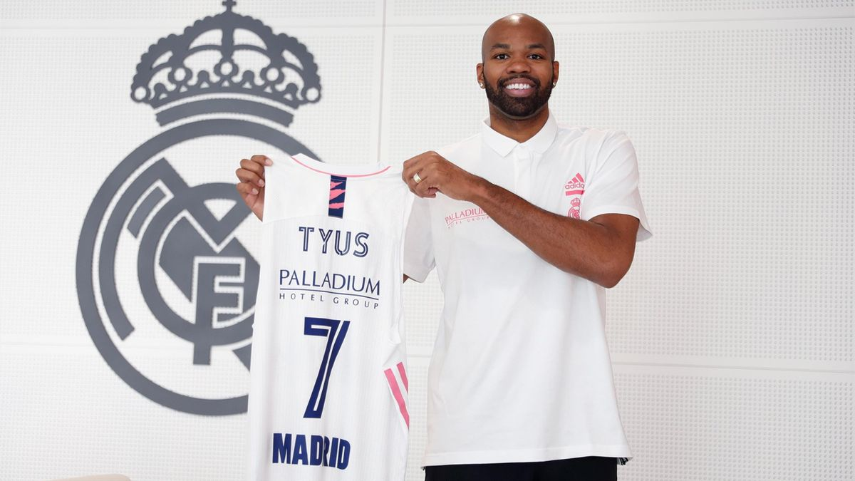 Alex Tyus, nuevo jugador del Real Madrid - Foto: Twitter Real Madrid Baloncesto