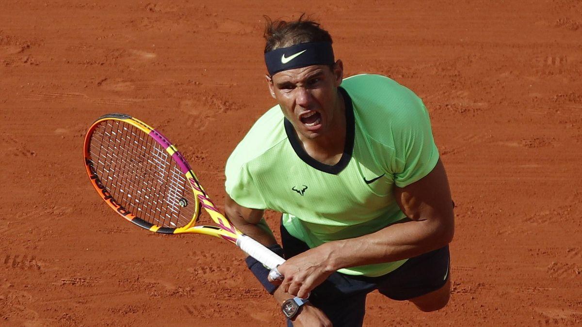 Roland-Garros: Nadal breaking Djokovic to 0-2