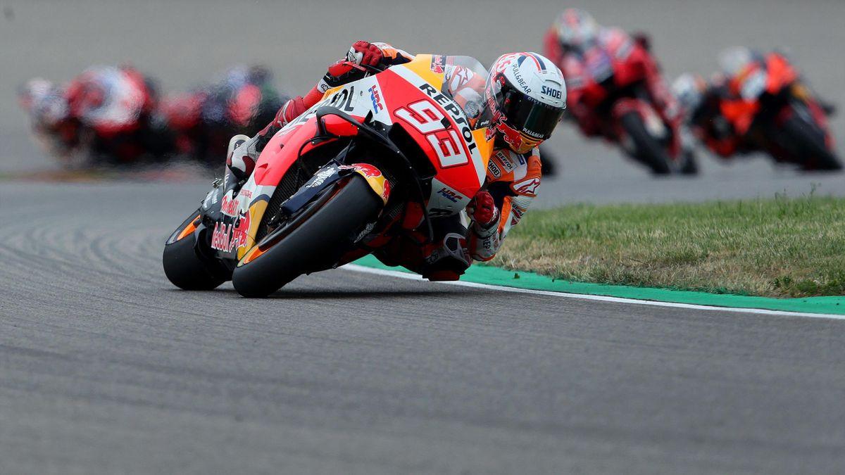 Marc Marquez beim Grand Prix in Deutschland