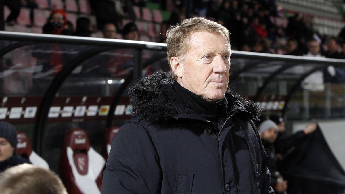 Alex Dupont, ancien entraîneur de Gueugnon ou Brest