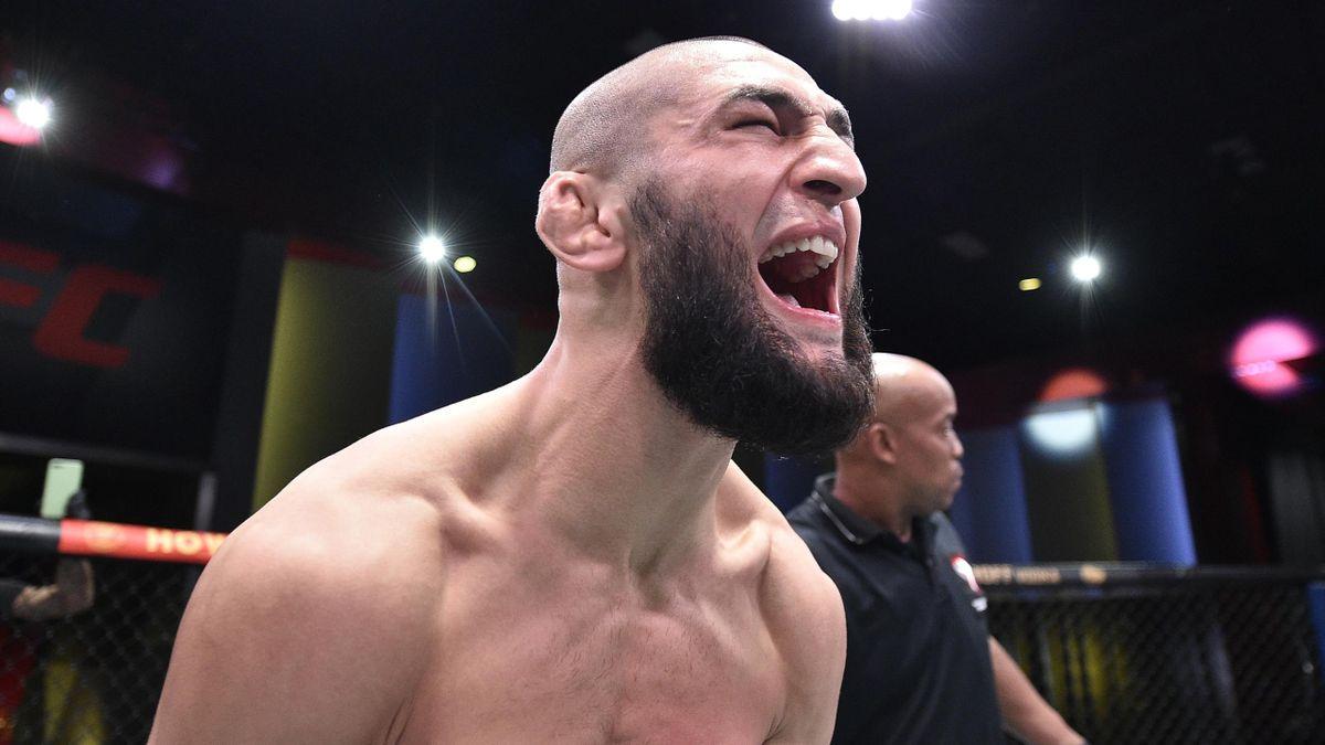 Хамзат Чимаев, UFC