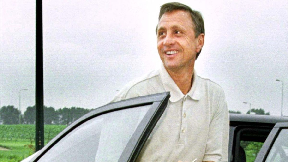 Johan Cruyff in 1996, shortly after leaving Barcelona