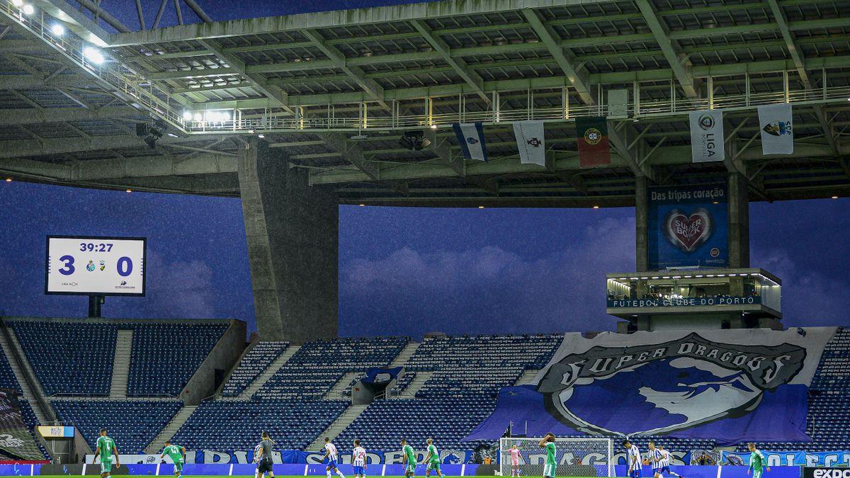 Estadio do Dragao on May 10, 2021 in Porto, Portugal