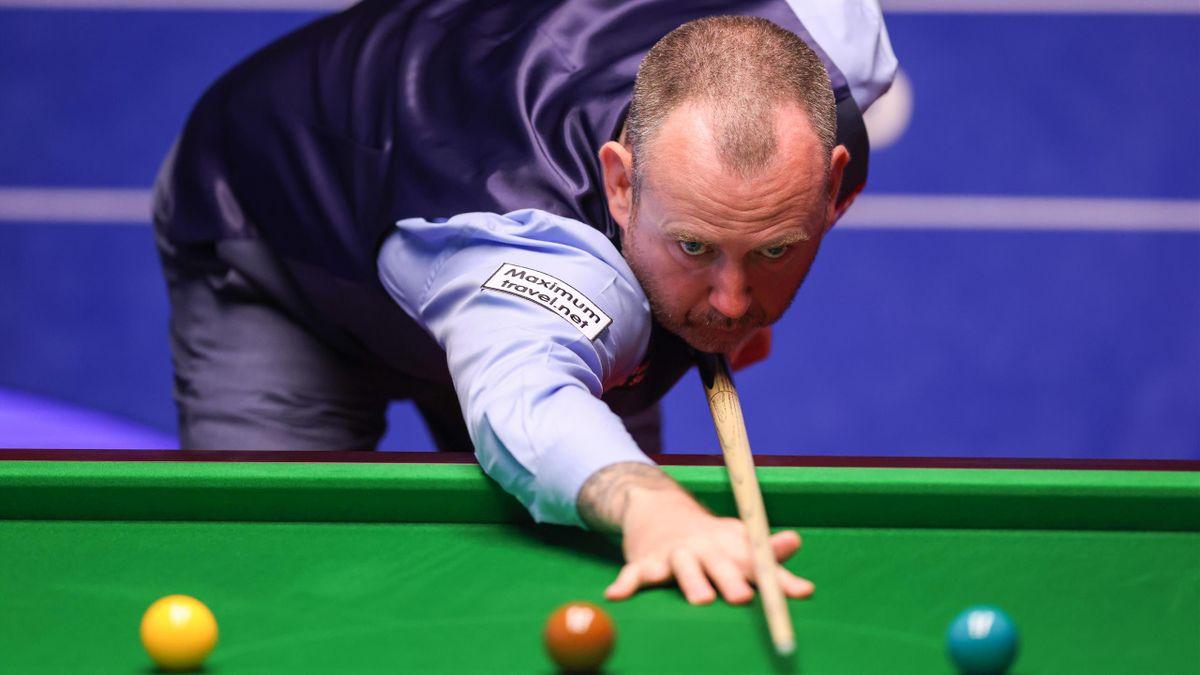 Mark Williams bei der Snooker-WM 2021