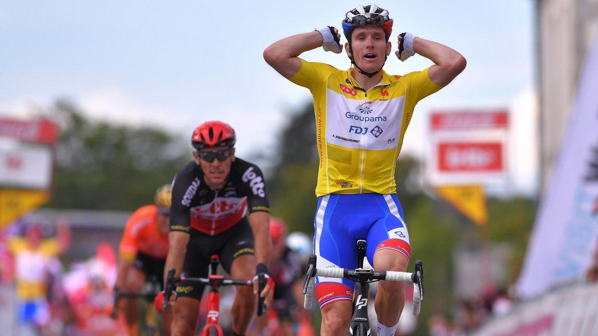 Arnaud Démare bat Philippe Gilbert et remporte la dernière étape du Tour de Wallonie 2020