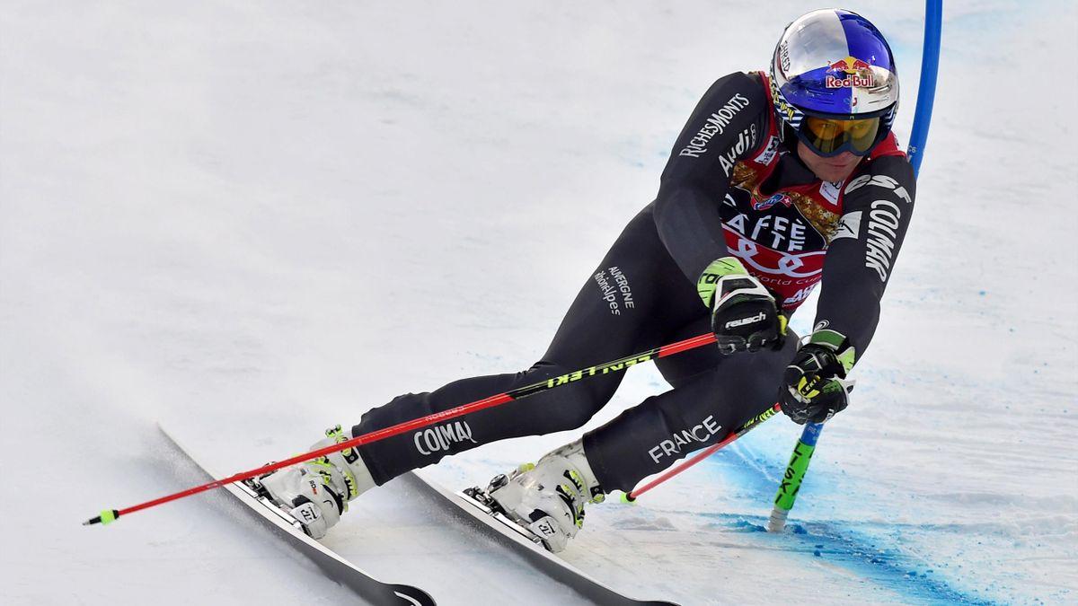 Alexis Pinturault lors du slalom géant d'Alta Badia