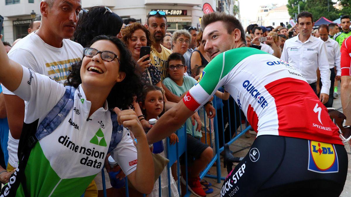 Elia Viviani Vuelta 2018