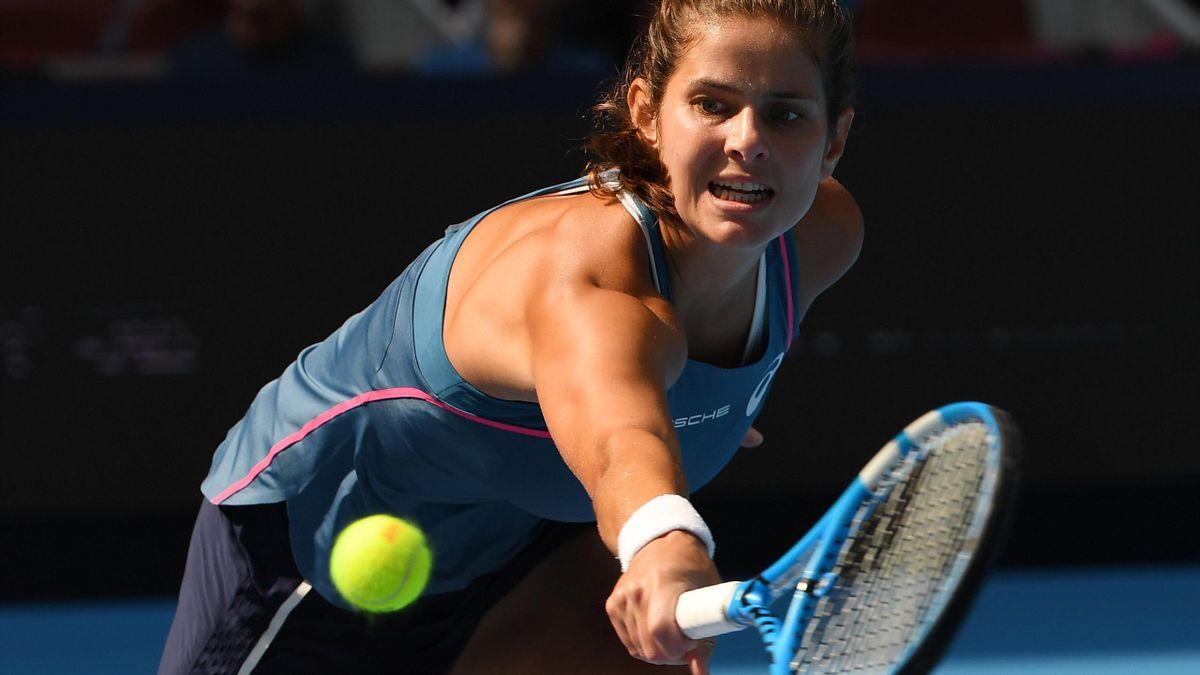 Julia Görges zieht ins Halbfinale von Zhuhai ein