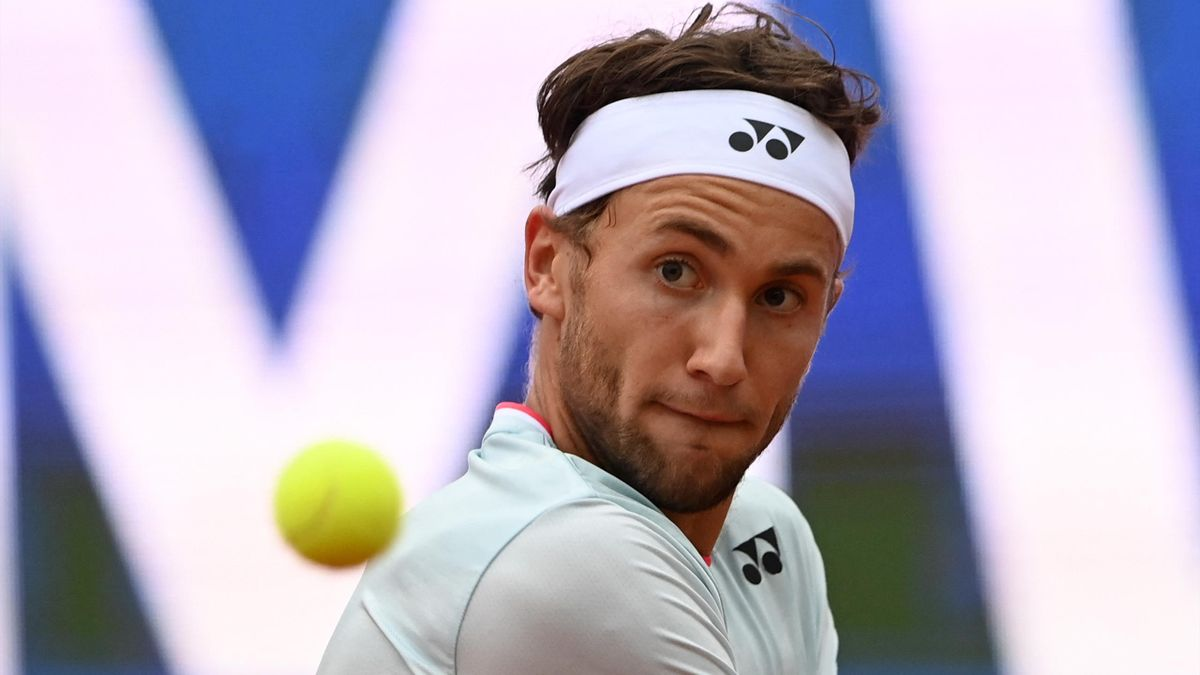 Hat den Ball ganz genau im Blick: Casper Ruud