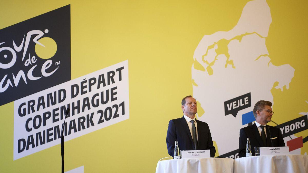 La présentation du Grand Départ du Tour de France 2021 à Copenhague