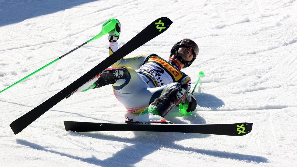 Sebastian Foss-Solevaag, champion du monde de slalom 2021