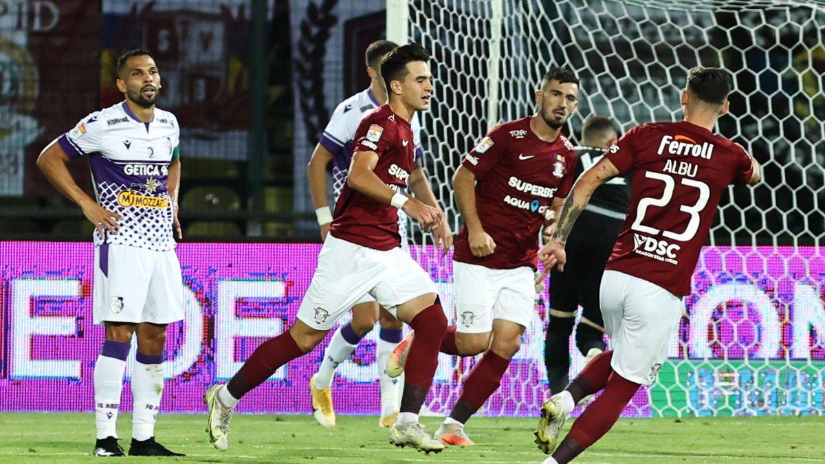 Rapid a câștigat 1-0 cu FC Argeș