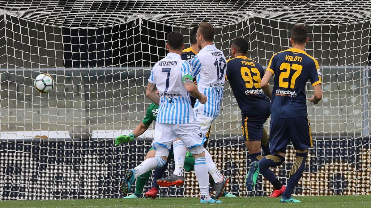 Le pagelle di Hellas Verona-SPAL 1-3 - Eurosport