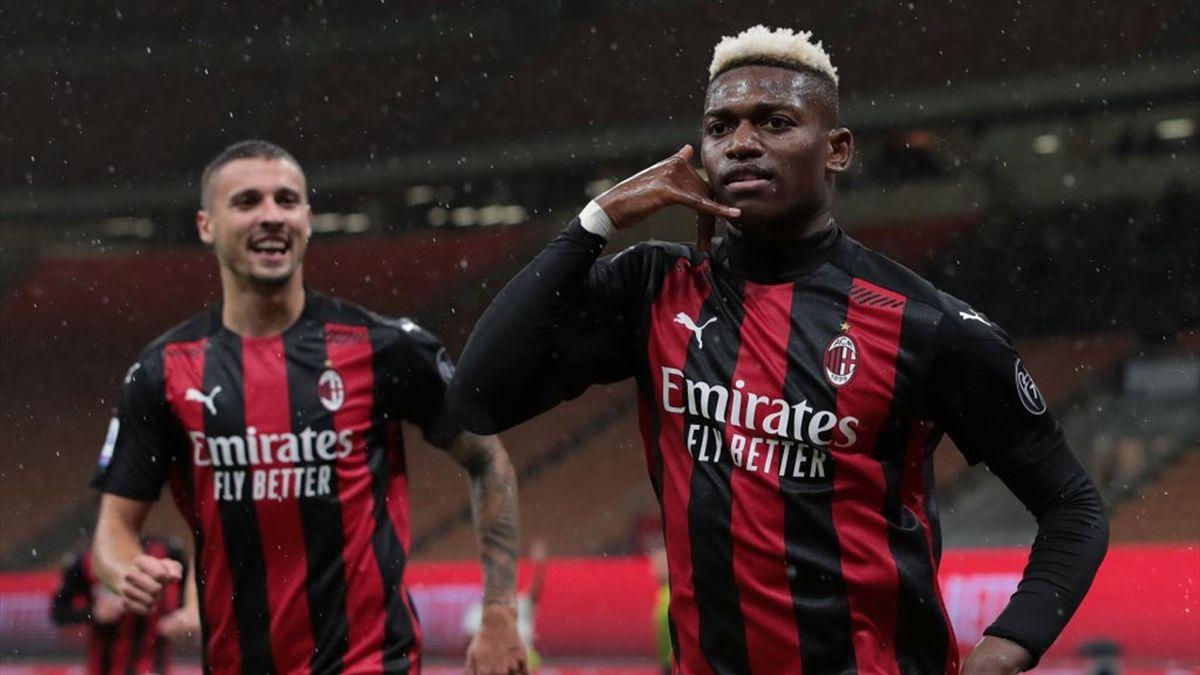 Rafael Leao - Milan-Spezia Serie A 2020-21