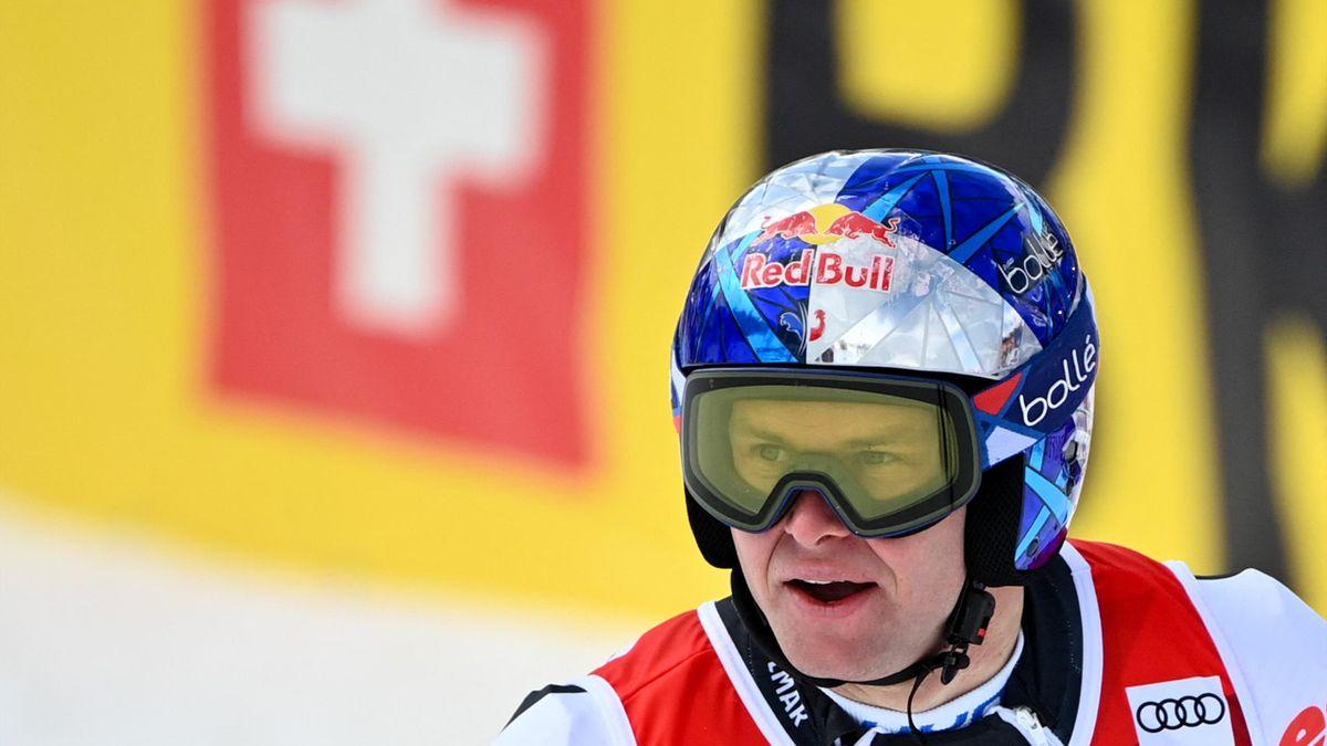 Alexis Pinturault a remporté le gros globe à l'issue de sa victoire en géant à Lenzerheide le 20 mars 2021 ... jour de ses 30 ans !
