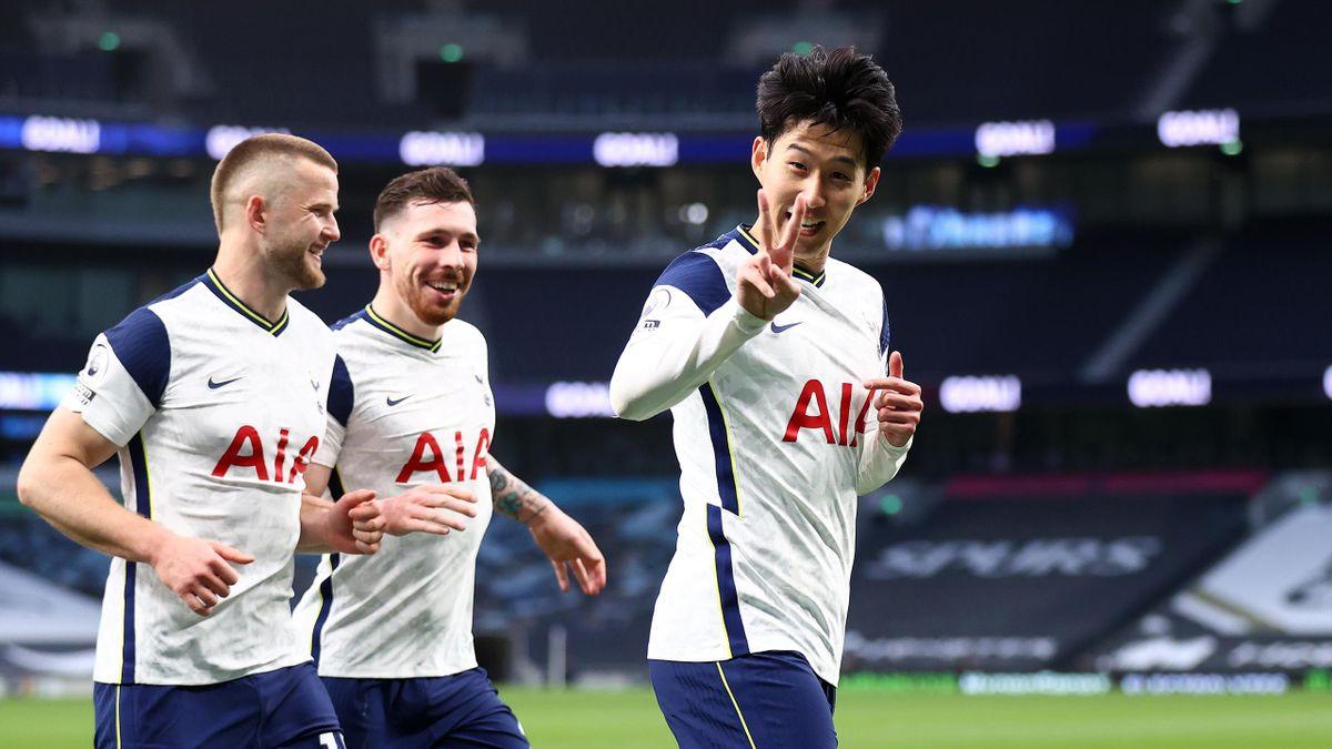 Late Heung Min Son Penalty Gives Tottenham Hotspur Winning Start Under Ryan Mason Eurosport