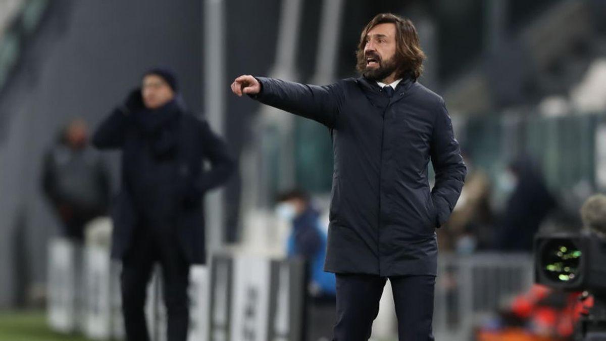 Andrea Pirlo - Juventus-SPAL - Coppa Italia 2020/2021 - Getty Images