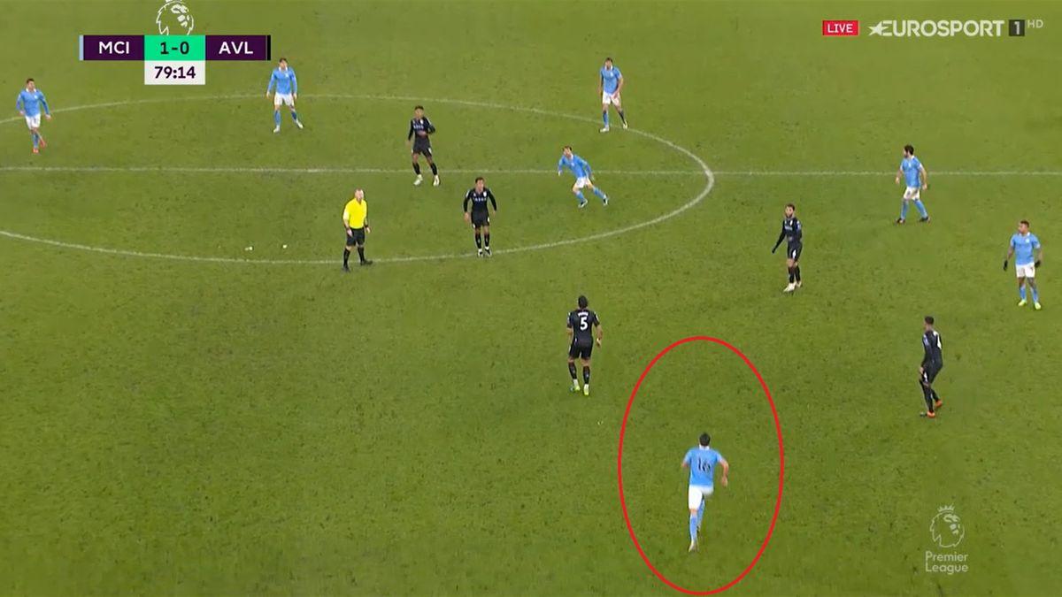 City - Aston Villa 2-0 | Trupa lui Guardiola a deschis scorul după o fază controversată