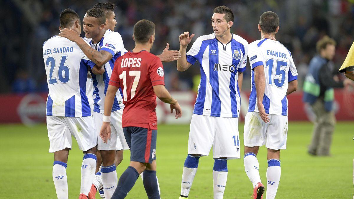 Hector Herrera (Porto) a marqué l'unique but du match face à Lille