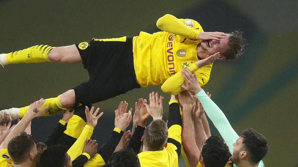 Лукаш Пишчек в финале Кубка Германии