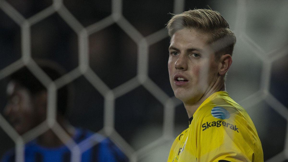 Odds keeper Anders Klemensson