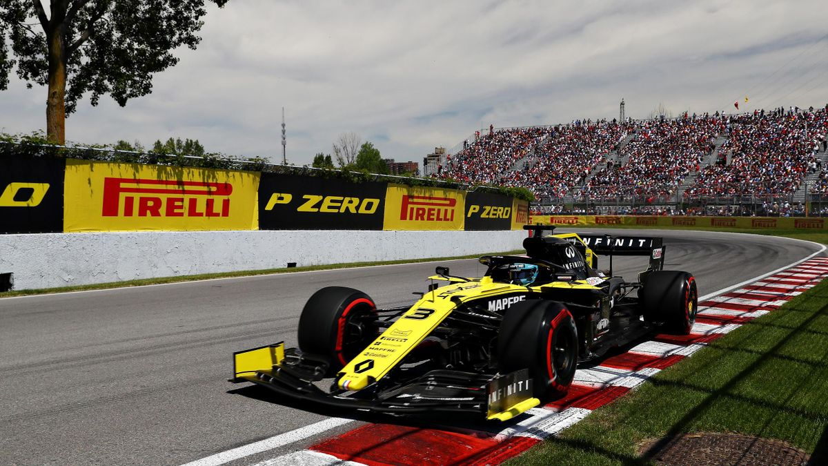 Daniel Ricciardo (Renault) au Grand Prix du Canada 2019