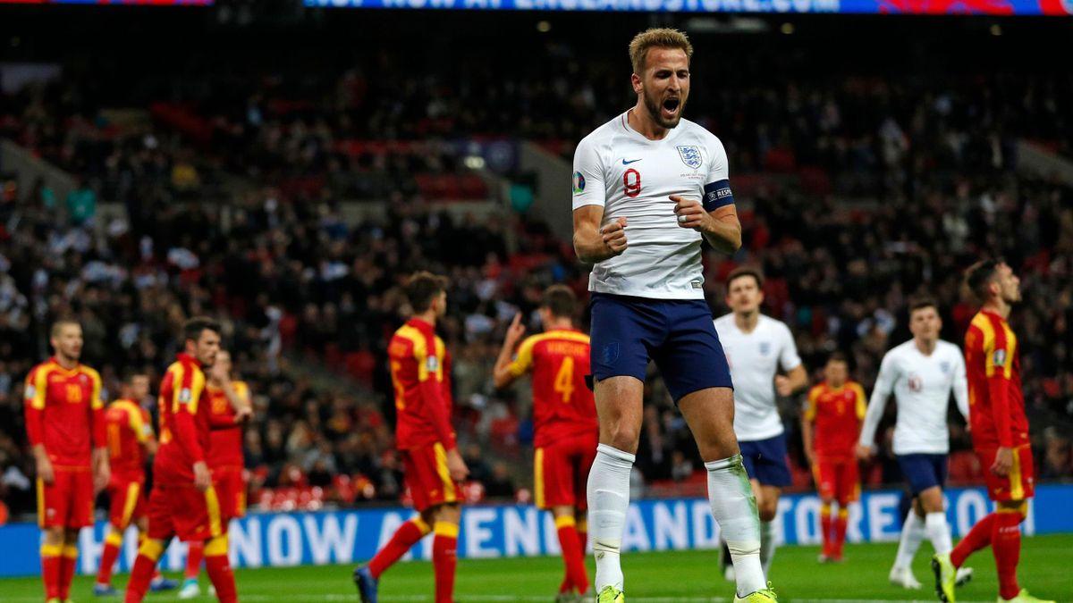 Harry Kane (England) - Montenegro