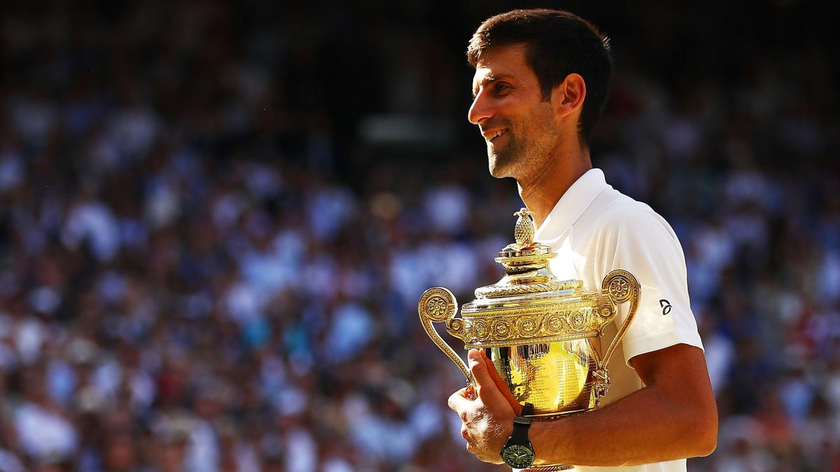 Novak Djokovic trofee