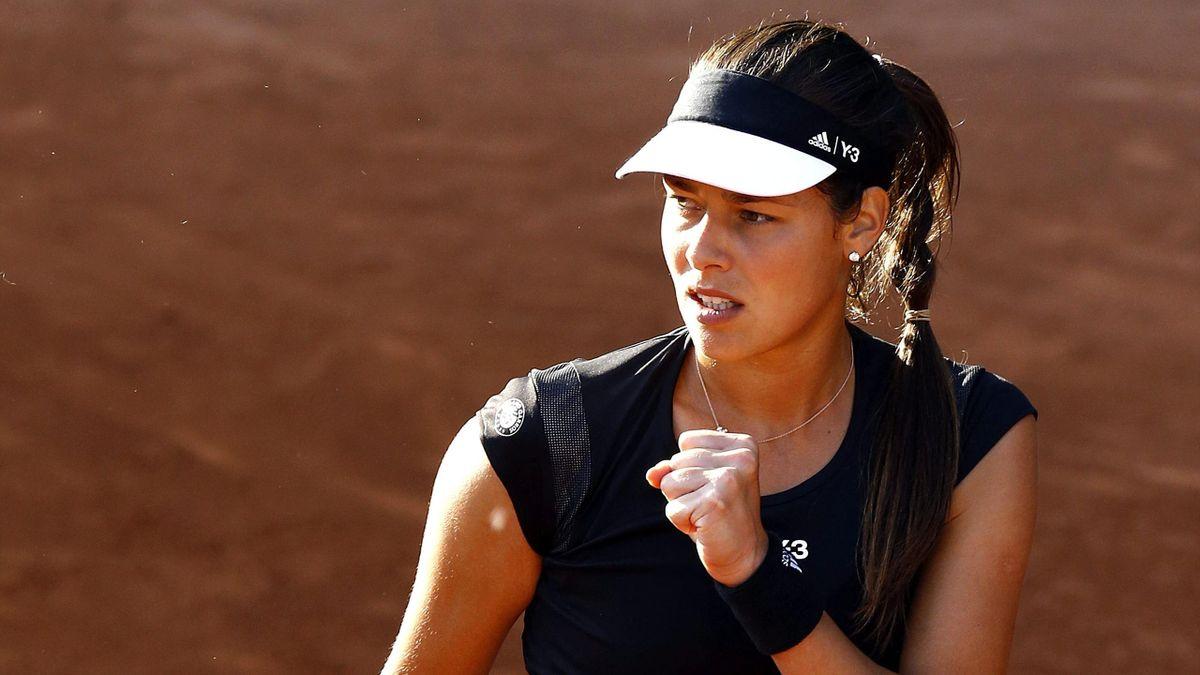 Ana Ivanovic en Roland Garros